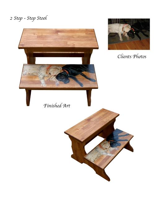 hard wood two step stool. View Images  sc 1 st  The Copper Mare & titleu003estools islam-shia.org