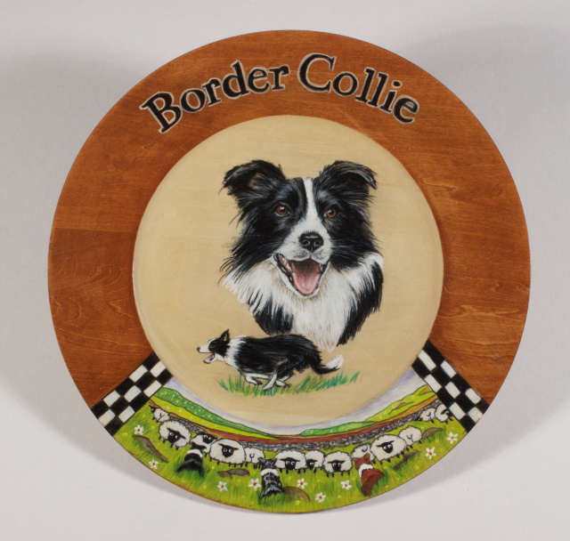 Portraits On Wood Wall plaques and plates