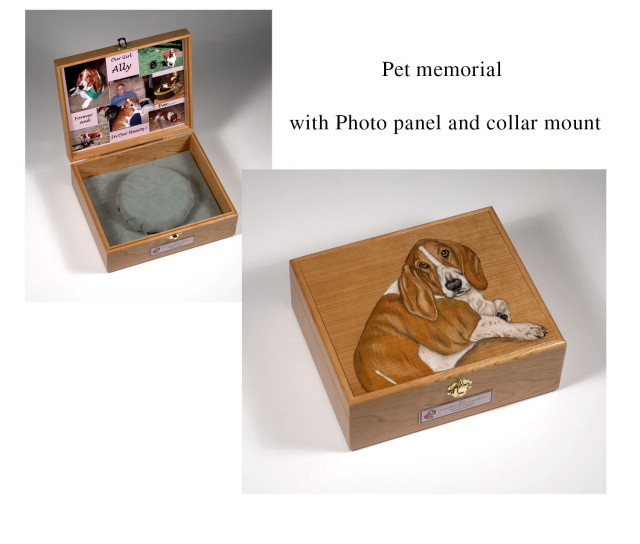 Memorial Boxes and Pet Urns